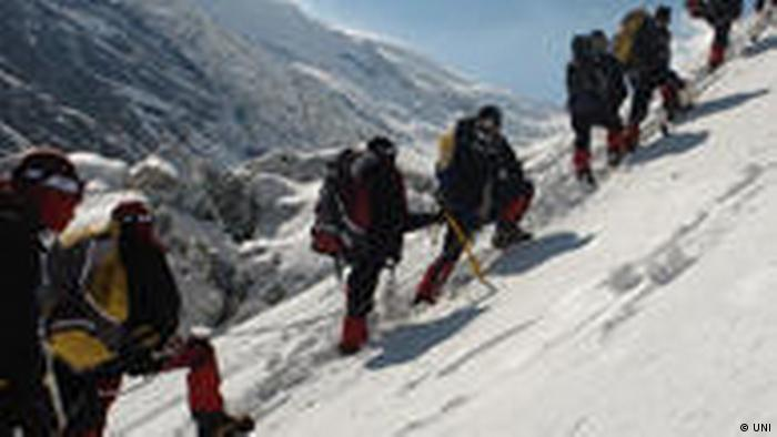 Six members of the Indian Army team successfully summitted Mount Dhaulagiri, the seventh highest peak in the world.