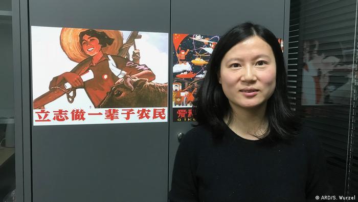 Shen Yang Dozentin Shanghai Jiaotong-Universität (ARD/S. Wurzel)