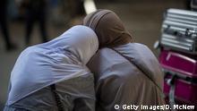 USA Flughafen Muslime