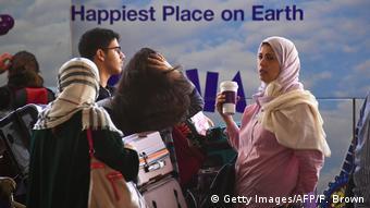 USA Los Angeles Flughafen Muslime (Getty Images/AFP/F. Brown)