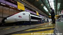 SNCF Alstom TGV Zug Arbeiter