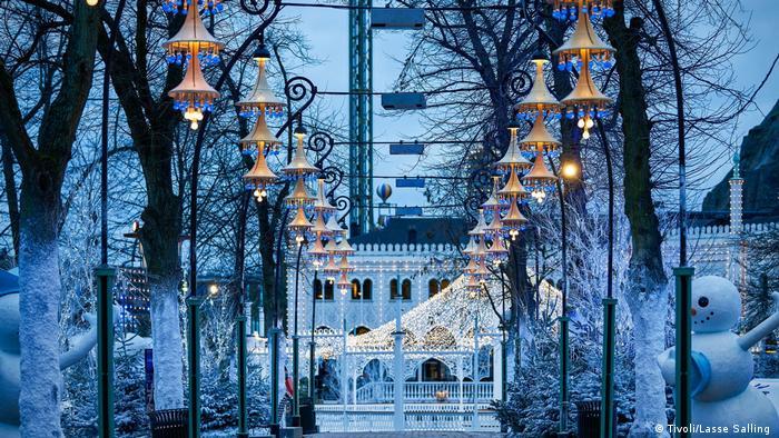 Kopenhagen Tivoli Hjørnet Themenpark