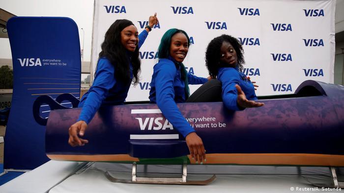 Equipa de bobsled da Nigéria