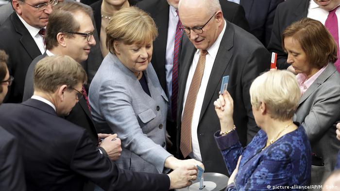 Głosowanie w Bundestagu ws. łączenia rodzin uchodźców