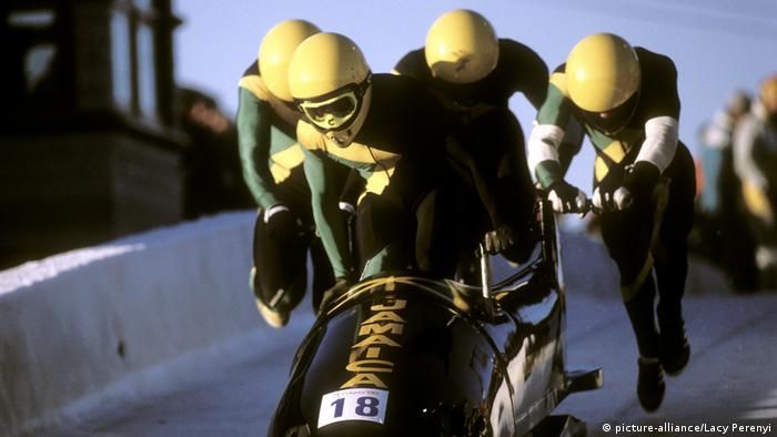 Jamaica's 1988 bobsleigh team