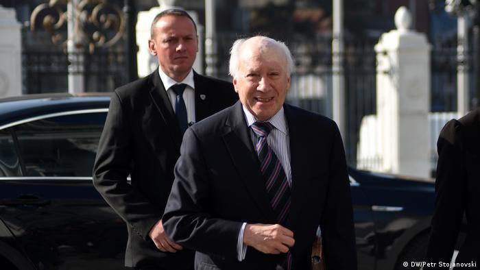 Uno-Vermittlung Namensstreit zwischen Mazedonien und Griechenland (DW/Petr Stojanovski)