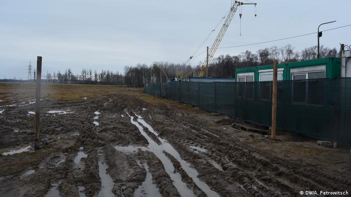 Место, где будет построен аккумуляторный завод