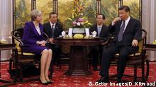 Peking Theresa May bei Xi Jinping