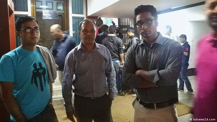Bangladesch Dhaka, Gewalt gegen Journalisten in Universität