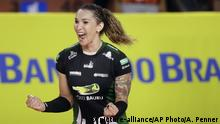 Brasilien Transgender Volleyballspielerin Tiffany Abreu