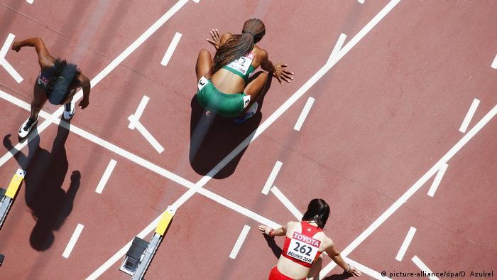 Nigeria Leichtathletik Frauen   Lindsay Lindley