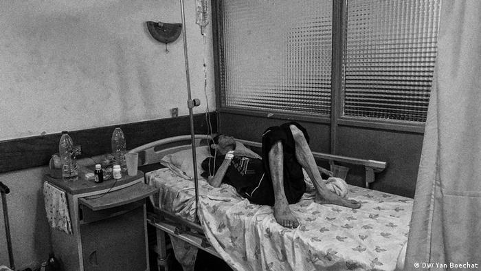 Krankenhaus in Caracas, Venezuela (DW/ Yan Boechat)