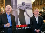 Gilles Jacob y Thierry Fremaux, directivos del Festival de Cine de Cannes 2009.