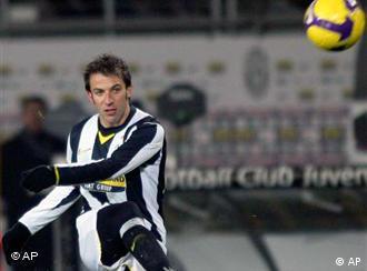 Ikona Juventusa Alesandro Del Pjero