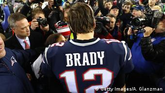 USA AFC Championship - Jacksonville Jaguars v New England Patriots | Tom Brady (Getty Images/A. Glanzman)
