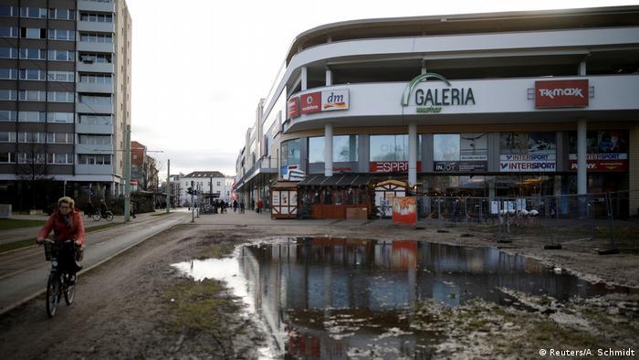 Deutschland Blechen Carre in Cottbus