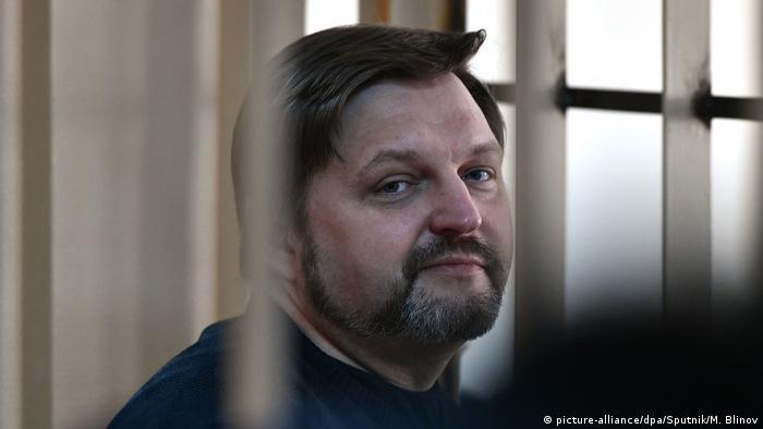 Никита Белых на оглашении приговора, 2018 год
