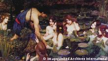 Gemälde Hylas and the Nymphs von John William Waterhouse 1896