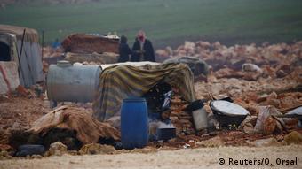 Беженцы в Идлибе