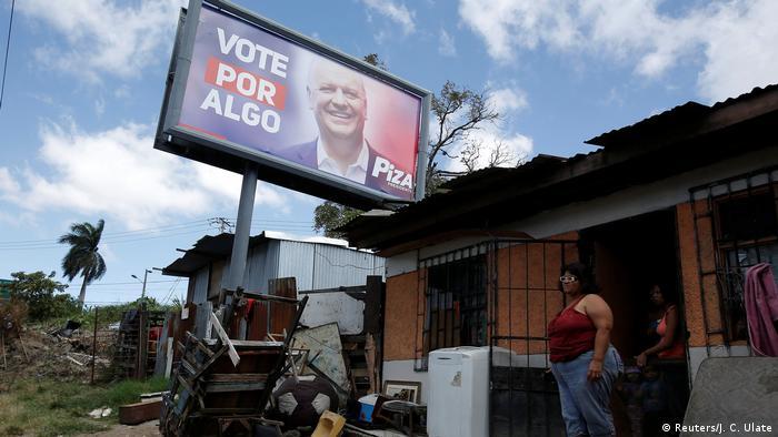 Costa Rican candidate Rodolfo Piza Rocafort