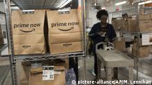 New York Amazon Versandlager Arbeiter