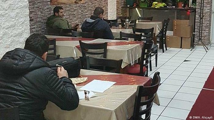 Deutschland syrische Restaurants (DW/A. Alojayli)