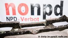 Karlsruhe Demo für NPD Verbot