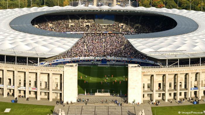 Olympiastadion in Berlin Hertha BSC Berlin