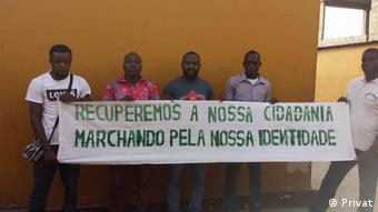Angola Aktivisten in Cabinda
