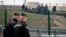Calais Flüchtlinge Lager
