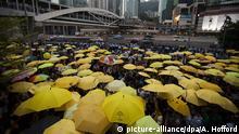 Hongkong 2015 Jahrestag Proteste