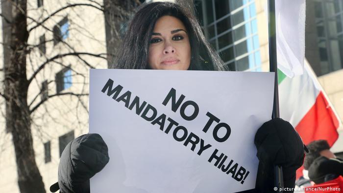 Kanada Anti Iran Kopftuch Protest