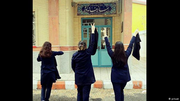 Iran Anti-Kopftuch-Proteste (privat)