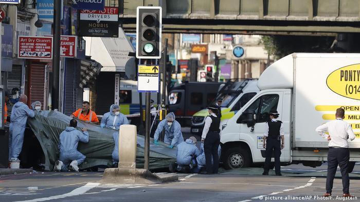 London Finsbury Park Anschlag Juni 2017