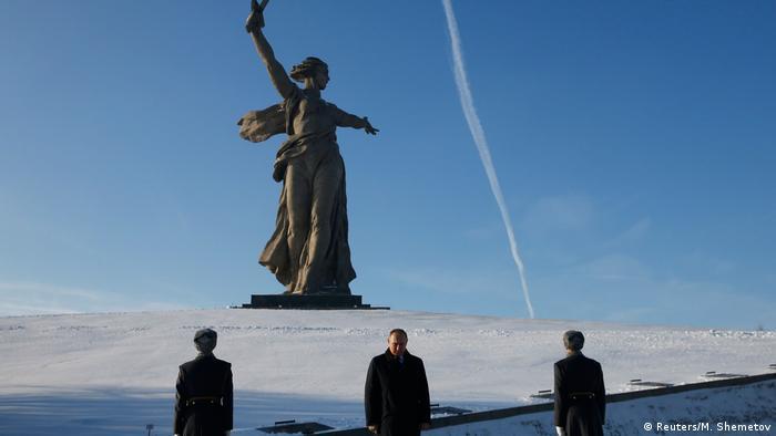 Putin Attends Celebrations on Stalingrad's Victory