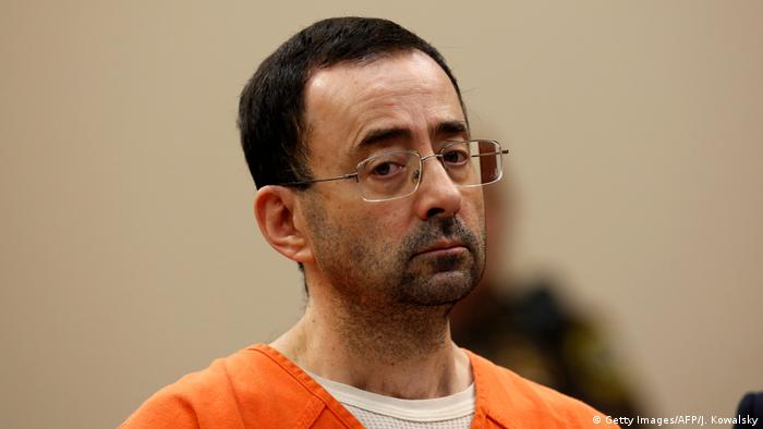 USA Arzt der Kunstturn-Mannschaft Larry Nassar (Getty Images/AFP/J. Kowalsky)