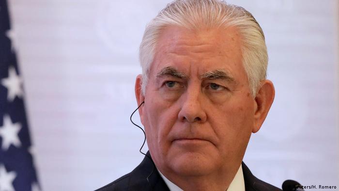 Mexiko NAFTA-Verhandlungen | Rex Tillerson (Reuters/H. Romero)
