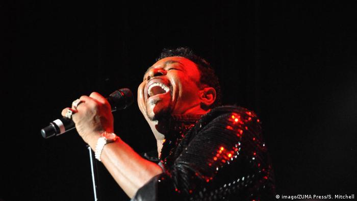 Former Temptations lead singer Dennis Edwards (imago/ZUMA Press/S. Mitchell)