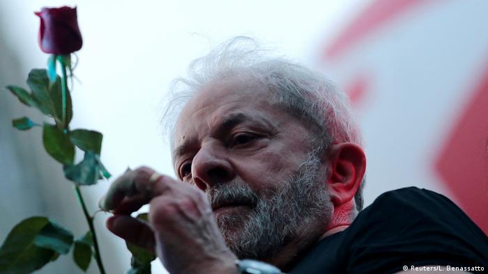 Brasilsiens Ex- Staatschef Lula (Reuters/L. Benassatto)