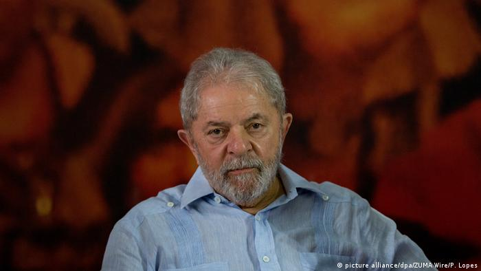 Brasilsiens Ex- Staatschef Lula (picture alliance/dpa/ZUMA Wire/P. Lopes)