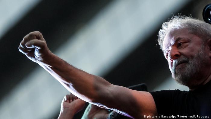 Brasilsiens Ex- Staatschef Lula (picture alliance/dpa/Photoshot/R. Patrasso)