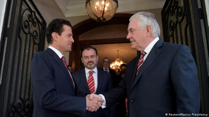 Mexiko US-Außenminister in Lateinamerika (Reuters/Mexico Presidency)