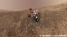 NASA Curiosity Rover Mars