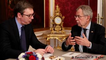 Aleksandar Vučić i Alexander Van der Bellen