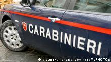 Italien Polizeiauto Symbolbild