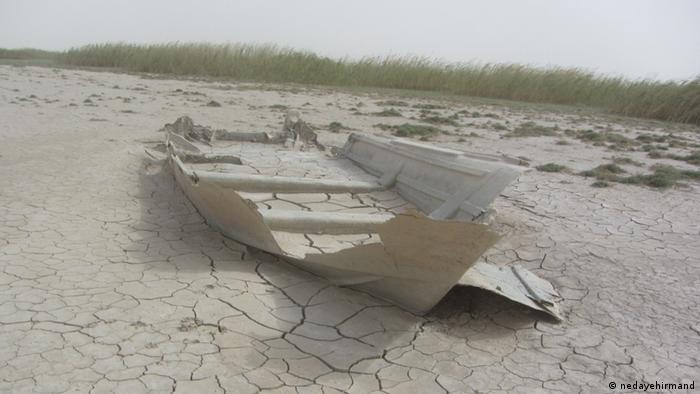 Iran Feuchtgebiete trocknen aus Hamoon (nedayehirmand)