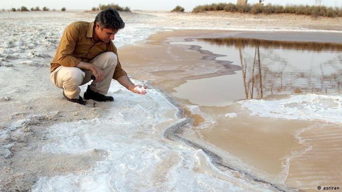 Iran Feuchtgebiete trocknen aus Shadegan