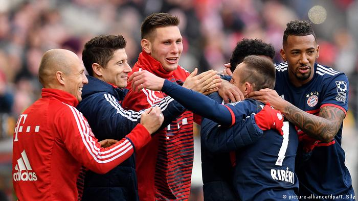 Fußball Bundesliga Mainz 05 - FC Bayern München (picture-alliance/dpa/T. Silz)