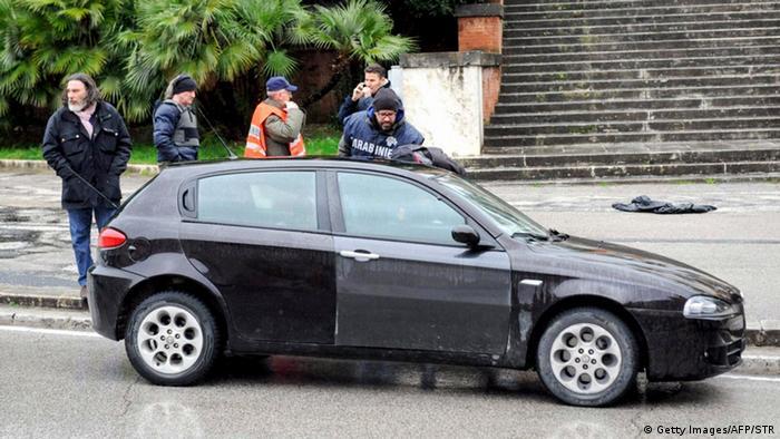 Automobil iz kojeg je napadač pucao