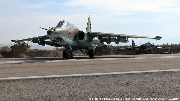 Russischer Kampfjet SU-25